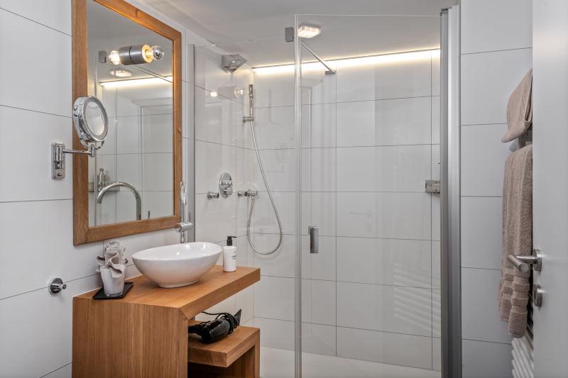 Hotel im Appenzell - Boutique Hotel Bären Gonten - Residenz Boutique Doppelzimmer, Bad