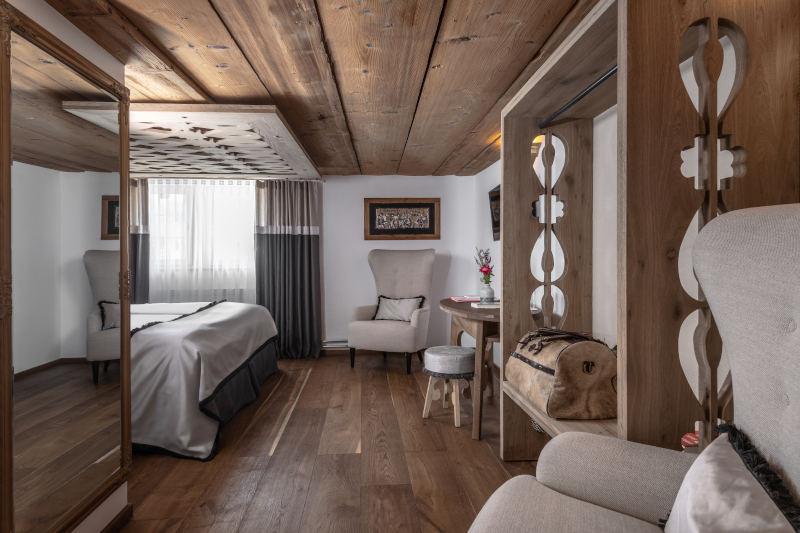 Hotel im Appenzell - Boutique Hotel Bären Gonten - Doppelzimmer originell